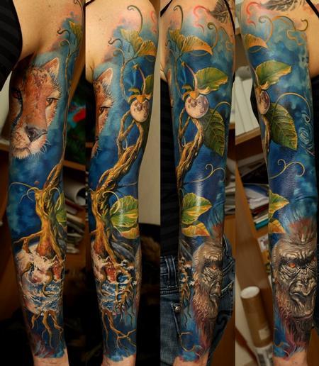 tattoos/ - Rainforest Sleeve - 63849